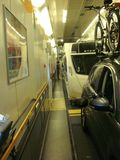 caravan on eurotunnel